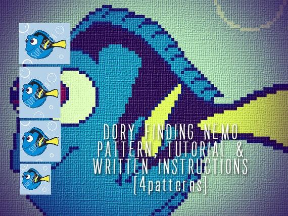 Baby Dory crochet free pattern | Fisch häkeln, Disney häkeln ... | 428x570