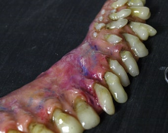 Weird creepy jewelry realistic oddities and by WeirdSculpture