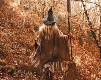 "Postcard art photography ""To the nice witches"" Olga Valeska - Autumn Halloween Fall autumn magic faerie fairy tale witch folk"