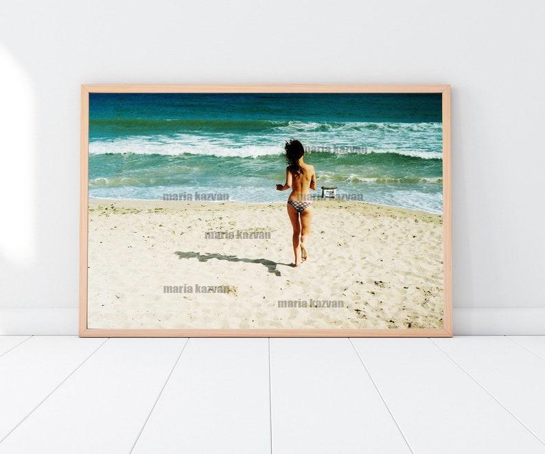 63851bc0a6cd Imprimer affiche un décor de plage photographie dart