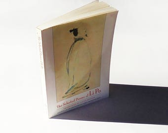 The Selected Poems of Li Po by Li Po (1996 New Directions) Vintage Paperback ~ Poetry