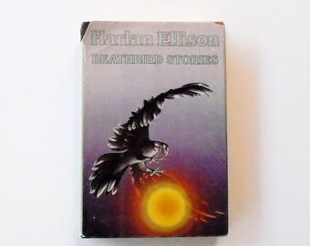 Deathbird Stories: Harlan Ellison (1983, Bluejay) Vintage Science Fiction Hardcover ~ BCE