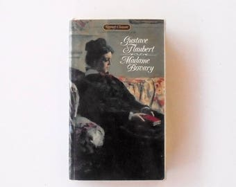Madame Bovary by Gustave Flaubert (1964, Signet) Vintage Literature & Fiction Book