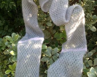 Long Grey/Pink scarf