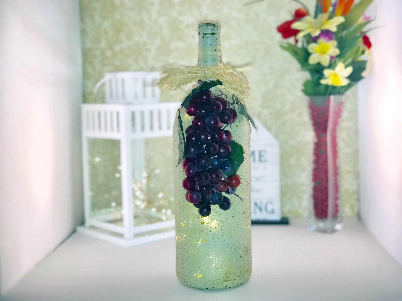 Happy 50th Birthday Iridescent Light Up Bottle Illuminated Bottles Gift