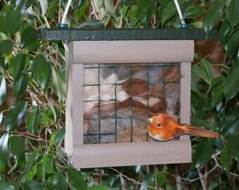 Bird Nesting Fiber Box