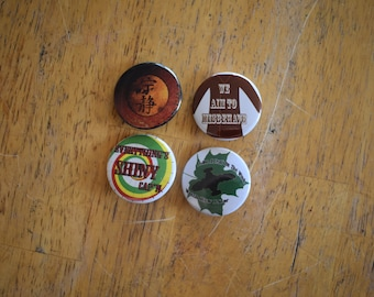 1.25 inch buttons inspired by Firefly,