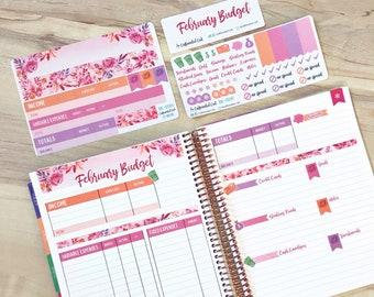 Budget Kit - February Sunset Floral [ BK-009 ]