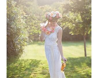 Crochet wedding etsy crochet wedding dress pattern only crochet pattern junglespirit Gallery