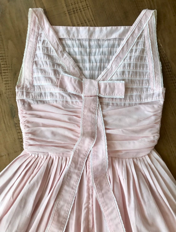 Vintage 1940's Pastel Pink Junior Handmade Dress/H