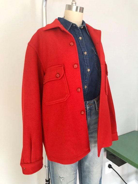 Vintage geek chic boy scout field Shirt Jacket/uni