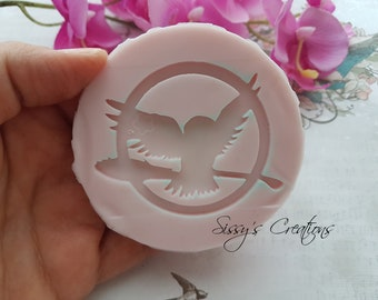 Stampo Edvige Harry Potter, Edvige, Harry Potter, Stampo Resina, Stampo Flessibile, Stampo Silicone, Stampi Resina, Stampo alimentare
