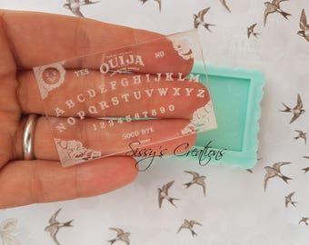 Stampo Tavoletta Ouija, Ouija Resina, Stampo Ouija, Tavoletta Ouija, Planchette Ouija, Stampo Cioccolatini, Stampo Alimentare, Stampo Dolci
