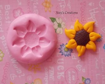 Sunflower Mold - Stampo Girasole 4.5 cm