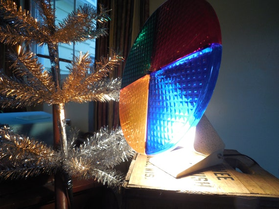 Retro Holly Time Color Wheel Rotating Light For Aluminum Etsy