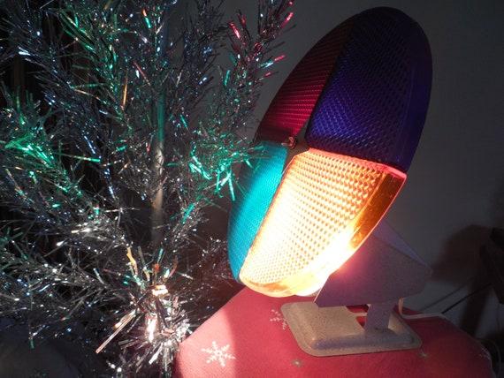 Color Wheel For Christmas Tree.Retro Penetray S Color Wheel Rotating Light For Aluminum Christmas Tree Revolving With Original Instructions