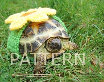 PATTERN for tortoise flower
