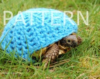 NEW crochet PATTERN instructions for a plain cozy for tortoises