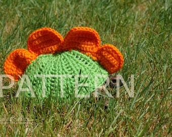 PATTERN for stegosaurus cozy for tortoises