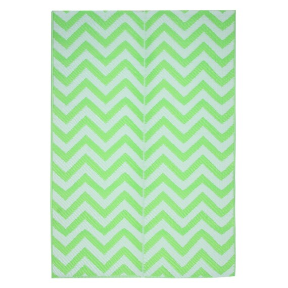Chevron Outdoor Mat For Patio Camping Or Rv S 4x6 Size Etsy