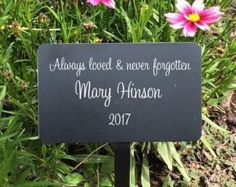 garden memorials name plates memorial plaque metal plaques garden plaques name plaques name tag memorial tree outdoor plant tags - Garden Plaques