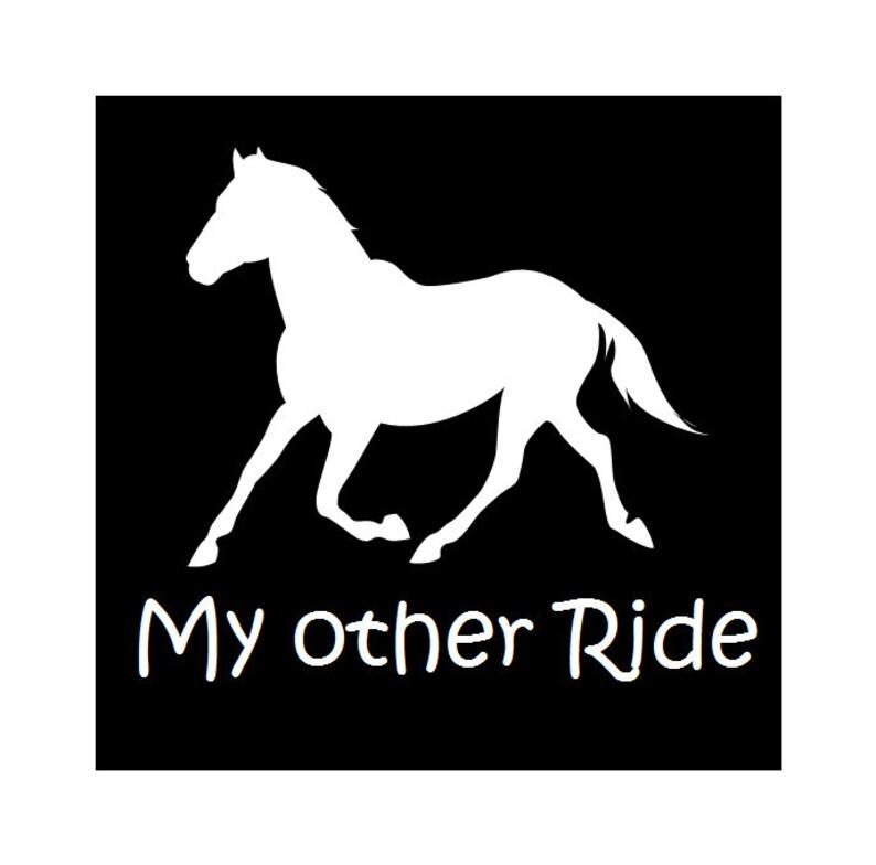 Vehicle decals horse decals outdoor vinyl decals vehicle  4239d58c414