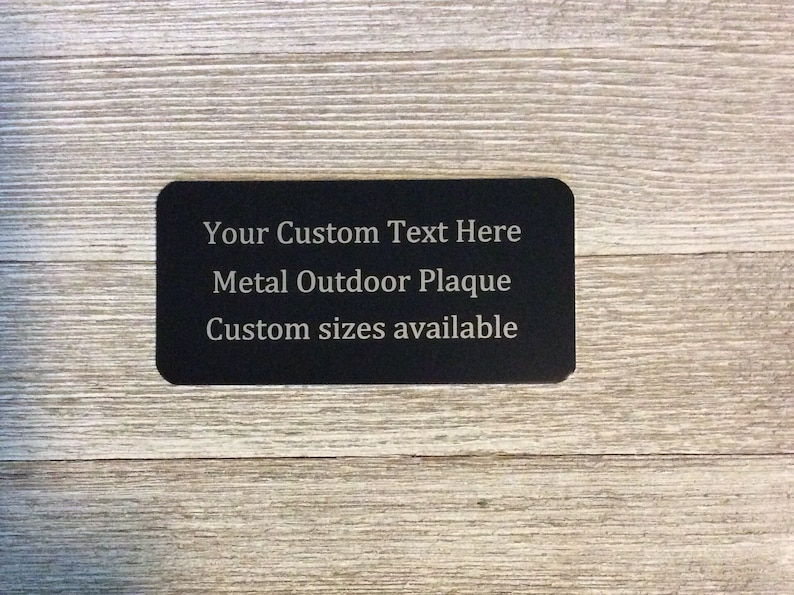 Metal plaques, Metal name plates, Engraved Metal Plaque, bench marker,  garden, Memorial Plaque, metal plaques, name plates, name tag