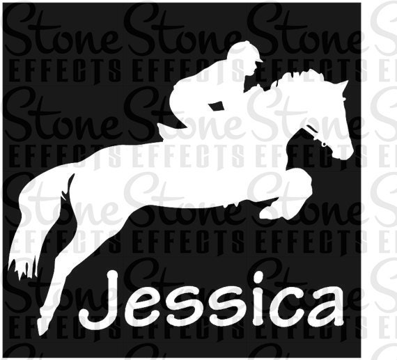 personalized vinyl decals outdoor decals horse decals  4423c5a7925