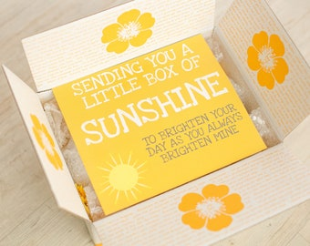 picture relating to Box of Sunshine Printable named Box of solar Etsy