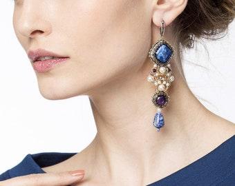 """Earrings """"Russian Winter"""""""
