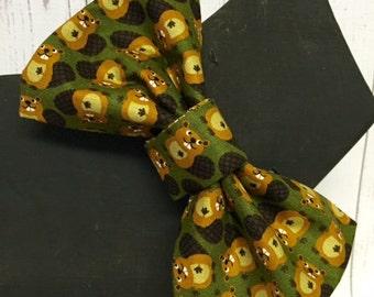 Beaver Dog Bow Tie Custom Sizes