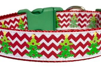 Christmas Tree Dog Collar,