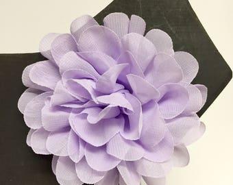 Lavender Chiffon flower - Summer - Spring Flower - Dog Collar Accessory - Gift - Pet Gift - Pretty - Fancy - Christmas - Holiday