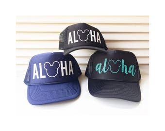 ADULT Aloha Mickey or MINNIE d5a547ef39d1