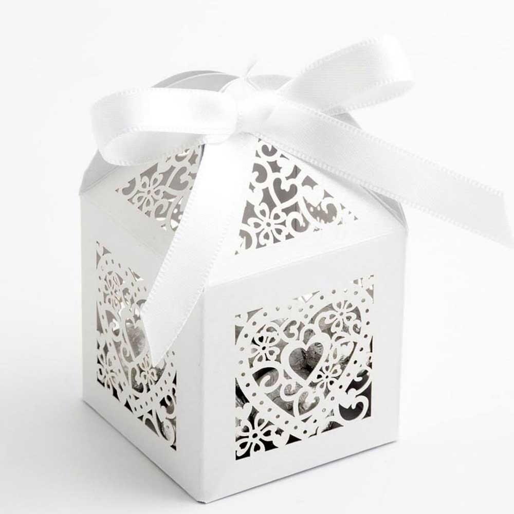 Filigree Laser Cut Wedding Favour Boxes | DIY Favour Boxes ...
