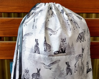 Childrens Library/Toy Bag - All The Wild Things 2.