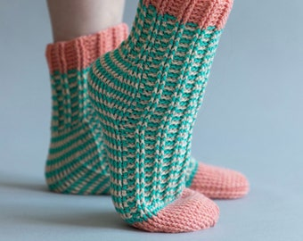 Locomotive Socks crochet pdf pattern INSTANT DOWNLOAD