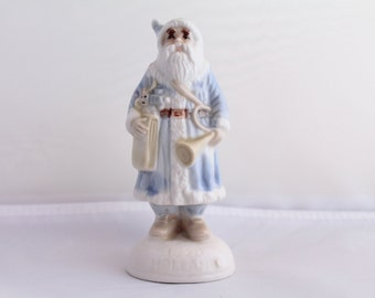 Vintage Santa's of The Old World Ceramic Figurine ,1980's , Stamped 1920 Holland, Christmas