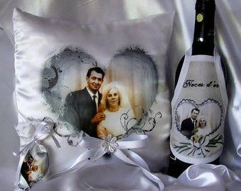 printed on sublimated with your favorite picture bottle apron
