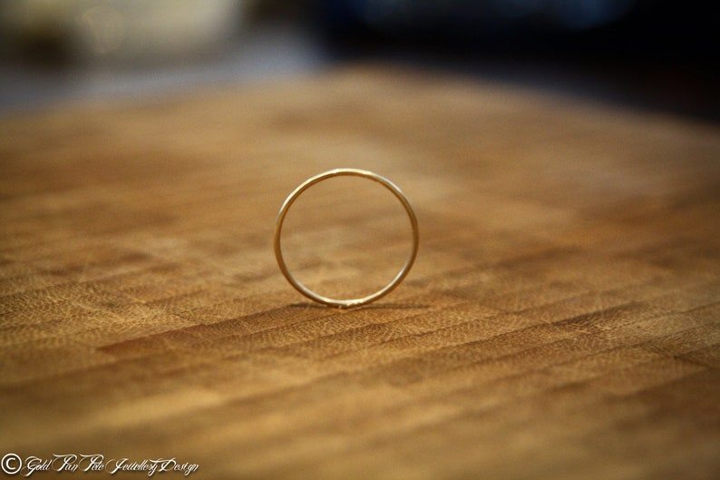 Sterling Silver Stacking Ring 16.9mm ~ Size H