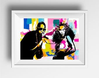 Lemonade Poster Print - Music Wall Art Prints