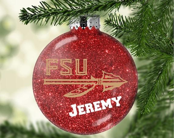 image 0 - Personalized Ornament FSU Ornament FSU Florida State Etsy