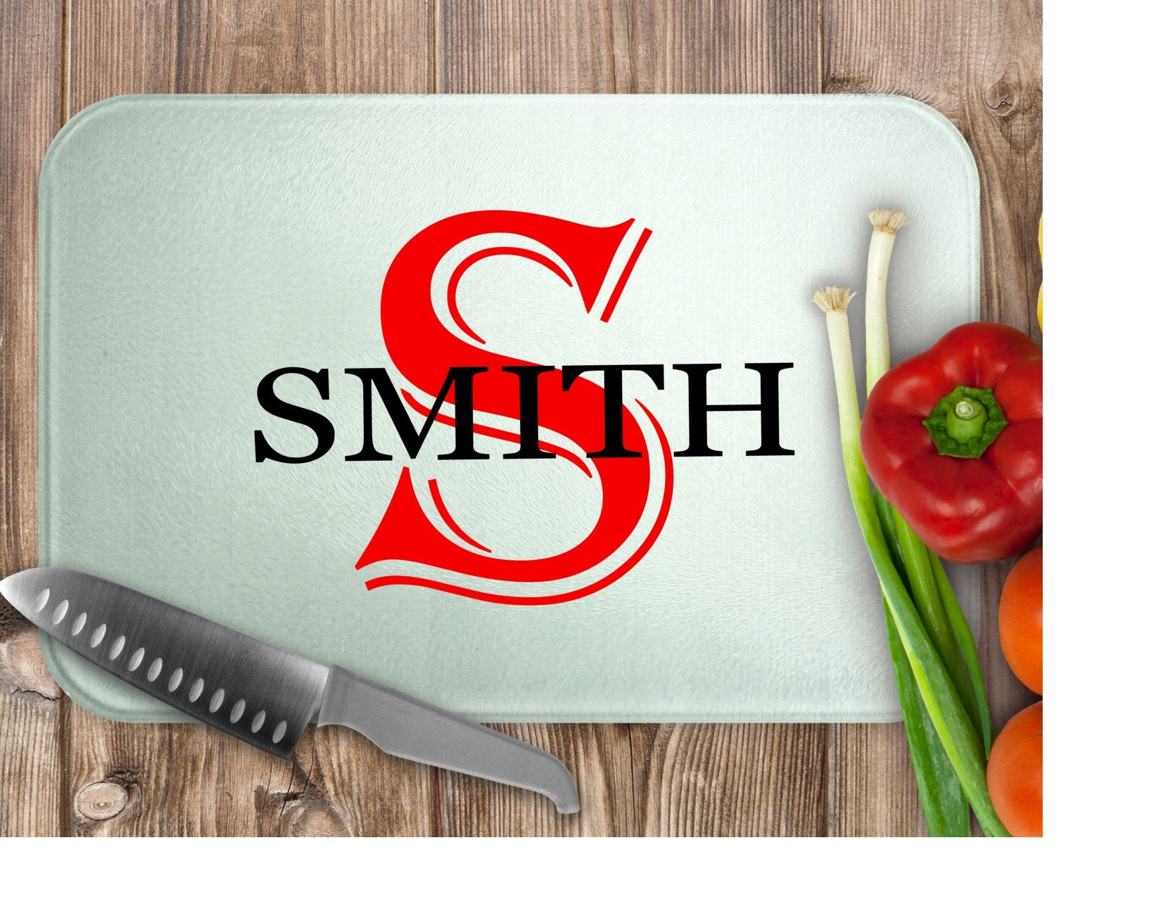 Glass Cutting Board, Personalized Cutting Board, Kitchen, Gifts For Her,  Gifts For Him, Housewarming Gift, Wedding Gift