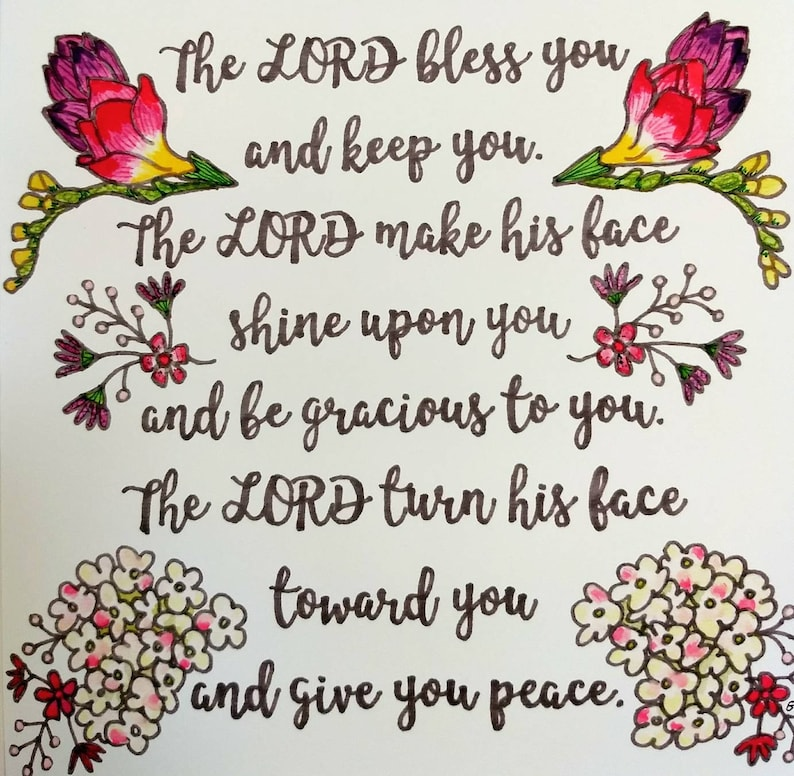 The Lord Bless You /& Keep You