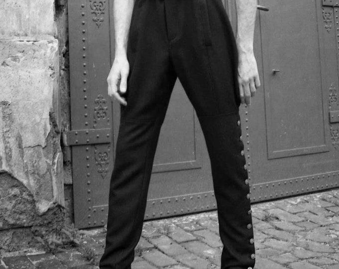 SALE! MEN SPAT Pants, Gaiter Trousers, wool, uniform, military, 18. century, 19. century, historicism