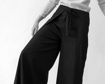 WRAP PANTS WOMEN in different Colors, shaolin, sarouel, jodphur, Wool Pants