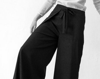 WRAP PANTS WOMEN in different Colors, shaolin, sarouel, jodphur, Wool Pants