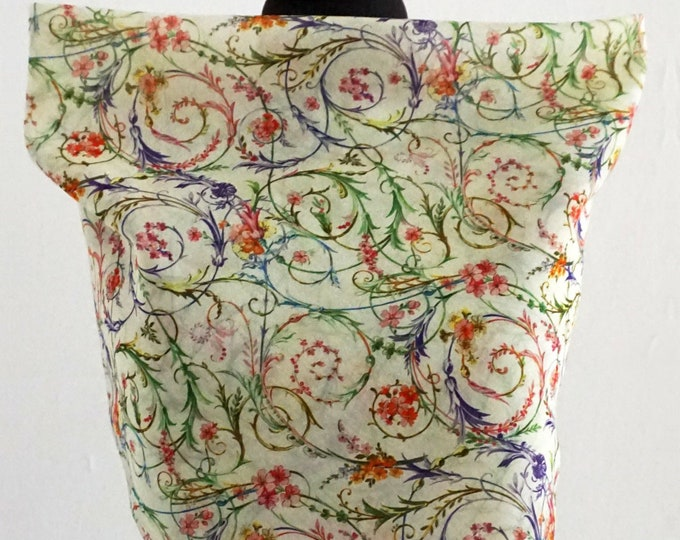 ROCOCO SCARF  18th century, Rokoko, historical pattern, Silk, Cotton, Digital Print