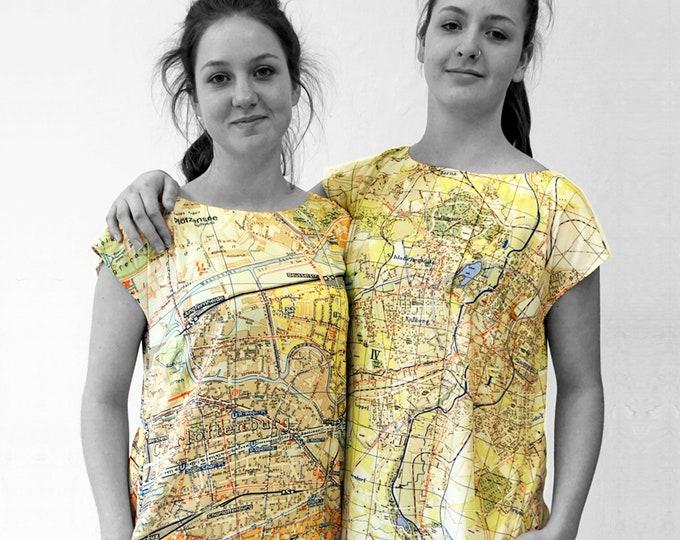 KARL MARX STADT Dress, A-line, Tunic, digital print
