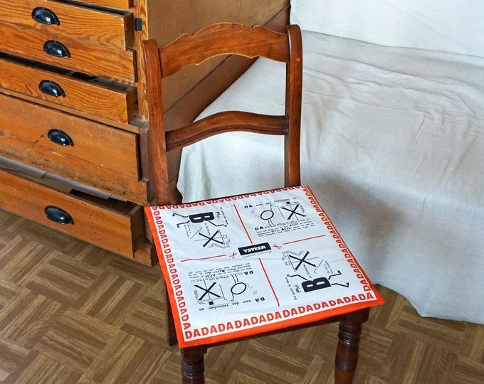 PILLOW CASE DADAISM Dada, Bauhaus, Anna Blume, Surrealism, Drawings, Merz Art, Organic Cotton, digital print